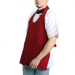 V-neck apron JHBA006