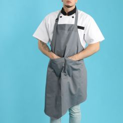Grey apron JHBA013